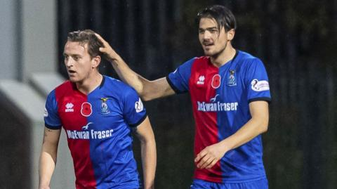 Inverness Caley Thistle won at Firhill thanks to a great strike from Tom Walsh