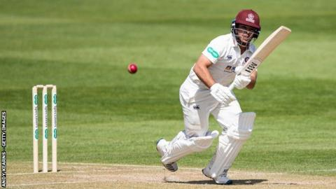 Ricardo Vasconcelos has now made three centuries for Northants - but none more important than this one
