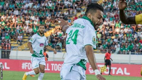 Raja Casablanca's Mahmoud Benhalib