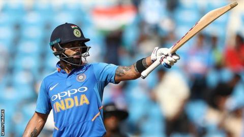 India vs Australia: Virat Kohli smashes his 40th ODI century