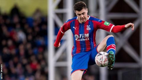 Sam Woods in action for Crystal Palace