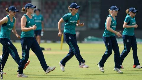 England Women's World Twenty20 team