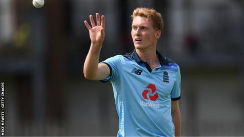 Nottinghamshire's England Under-19s all-rounder Joey Evison made his first-class debut in this season's final home game against Warwickshire