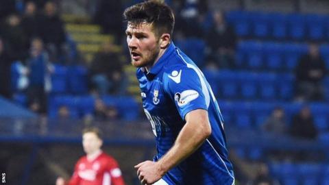 St Johnstone midfielder Matty Kennedy
