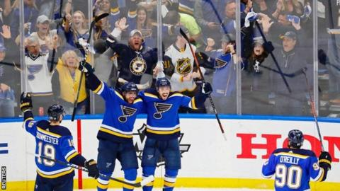 9c1dfe9d665 Stanley Cup: St Louis Blues reach first final since 1970 with ...