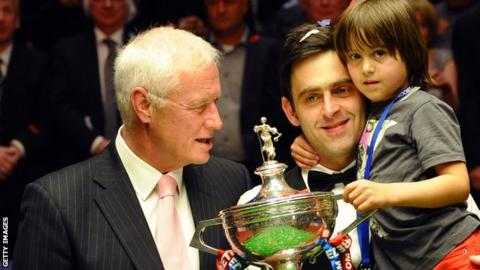 Barry Hearn and Ronnie O'Sullivan
