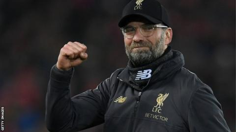 Jurgen Klopp says Liverpool have earned Manchester City's respect