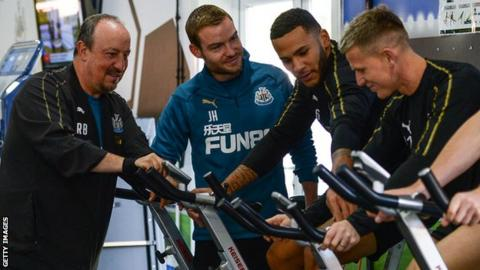 Read Pep Guardiola's glowing tribute to Rafa Benitez - and Newcastle's 'loyal' fans