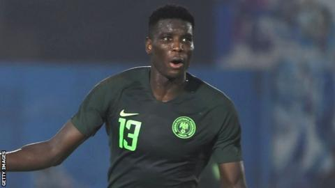 Nigeria's Paul Onuachu