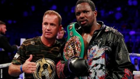 The 5 Live team praised Whyte's trainer Mark Tibbs but expect a wait of over a year for a world-title chance