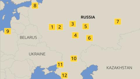World Cup 2018 A Guide To The Grounds Hosting Games In Russia Bbc