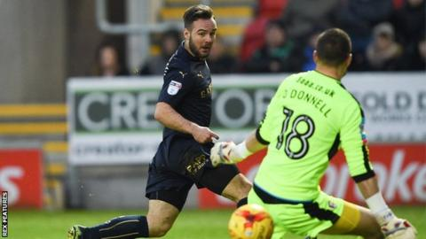 On-loan Adam Armstrong slots Barnsley's winner past Rotherham keeper Richard O'Donnell