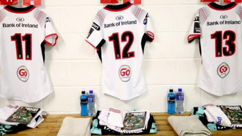 Pro14: Darren Cave to lead Ulster against Leinster