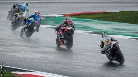 British MotoGP qualifying