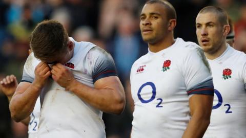 England dejected
