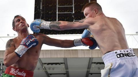 I was fighting with people close to me' - Ballymena boxer