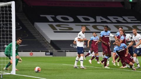 Tomas Soucek own goal