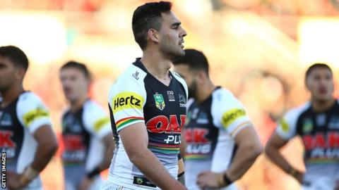 Panthers' Tyrone May charged over sex tapes scandal