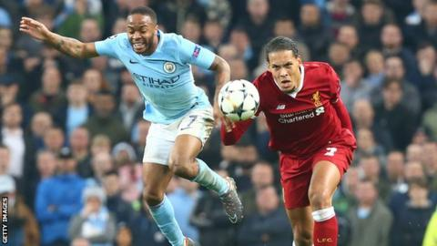 Van Dijk admits he voted for Raheem Sterling as POTY
