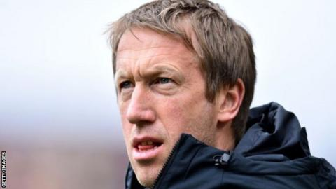 Brighton head coach Graham Potter