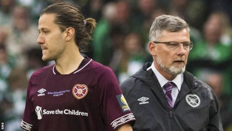 Peter Haring and Craig Levein