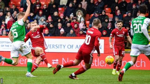 Hibs last played on 7 March, a 3-1 defeat at Aberdeen