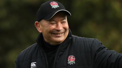 England coach Eddie Jones