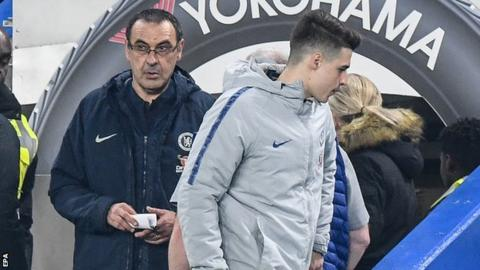 Sarri not sure about Kepa's return to Chelsea team