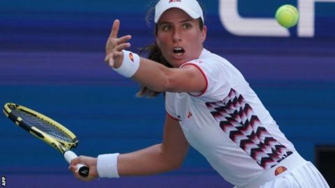 Elina Svitolina halts Johanna Konta to advance into semis