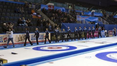 European Curling Championships at Braehead Arena