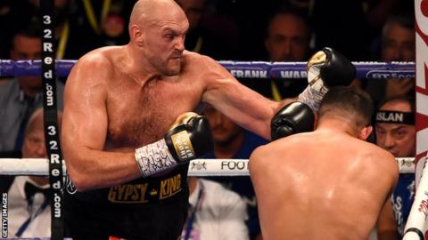 Tyson Fury says he's in negotiations for December fight vs. Deontay Wilder