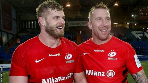George Kruis and Dominic Day