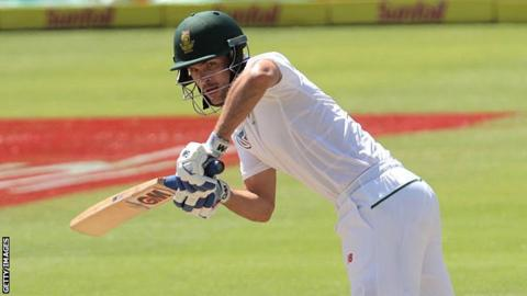 Glamorgan's South African batsman Stephen Cook