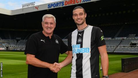 Andy Carroll: Newcastle striker was 'desperate' to return, says boss Steve Bruce