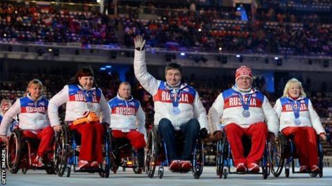 Russian team at Sochi 2014