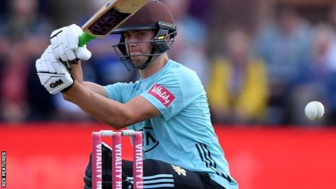 English cricketer hits 25-ball century, including six sixes in an over