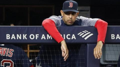 Alex Cora: Boston Crimson Sox sack manager for role in Houston Astros trace-stealing scandal thumbnail