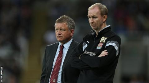 Chris Wilder and Alan Knill