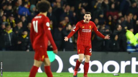 Andy Robertson, Mohamed Salah, Liverpool