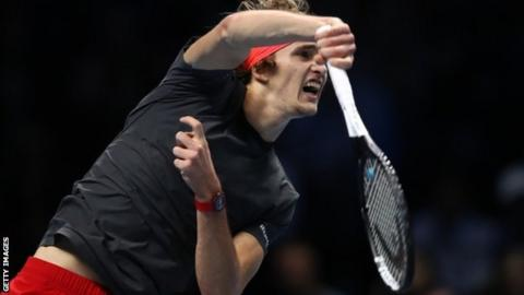 Inspired Zverev crowned champion after victory over Djokovic — ATP Finals