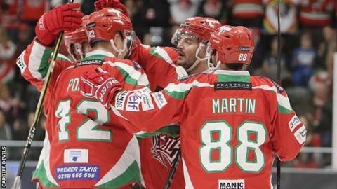 Joey Martin celebrates goal