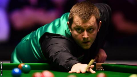 Allen will face Mark Williams for a place in the quarter-finals of the China Open