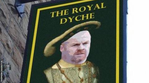 Burnley boss Sean Dyche gets pub named after him following dream season
