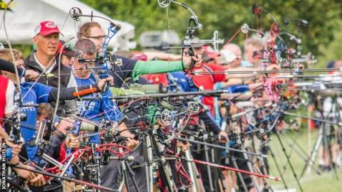 Archery at Jersey 2015