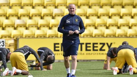 Livingston assistant manager David Martindale came up with the Twitter poll idea
