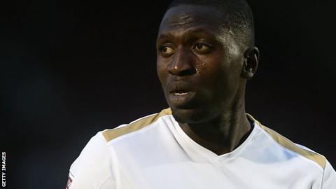 Idris Kanu in action for Peterborough