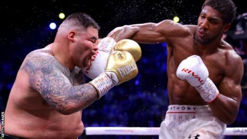 Anthony Joshua Lined Up For UK Return At Tottenham Hotspur Stadium