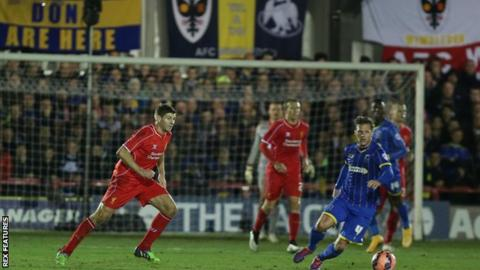 AFC Wimbledon face Liverpool at Kingsmeadow