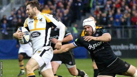 Elliot Daly scores for Wasps