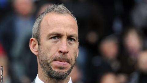 Shaun Derry oversaw ninth and 11th-place finishes in League One in his two seasons in charge of Cambridge United